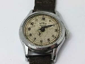 Vintage Services Heston Mens Mechanical Wrist Watch for Repair, Vintage Watch