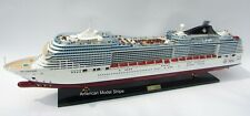 """MSC Fantasia Cruise Ship Model 39""""  Handcrafted Wooden Model NEW"""