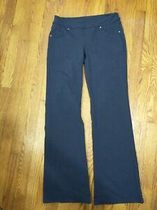 "Small Athleta Bettona Classic Pants Bootleg/Flare 32"" - Navy Blue"