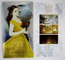 New Walt Disney Limited Edition Beauty and the Beast Live Action Lithograph Set