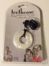 Smart Mom Teethease Pendant Necklace Pearl Baby BPA Free PVC Free NWT Free Ship