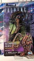 "NECA Aliens Alien Scorpion Alien 7"" Kenner Retro Action Figure BRAND NEW"