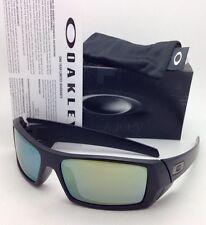 e02e84bb580 New OAKLEY Sunglasses GASCAN 26-245 60-15 Matte Black Frame with Emerald  Iridium
