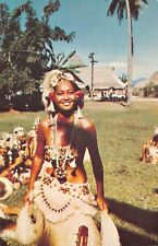 (240) Postcard of aTahitian Dancer, Tahiti