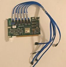Dell XD084 0XD084 PD637 0PD637 6 Channel RAID Controller PCI-X Card
