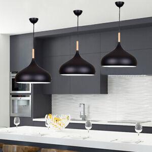 Kitchen Pendant Light Wood Lamp Modern Ceiling Lights Home Chandelier Lighting