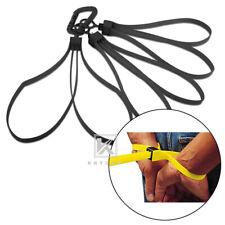 KRYDEX 3 PCS Tactical Tri-fold Disposable Restraints Plastic Handcuffs Black