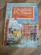 Vintage Reader's Digest Magazine ~ JUNE 1963 ~ Great Read and Adverts!