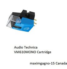 Audio Technica VM610MONO Cartridge 5 LEFT ONLY ! CANADIAN SELLER !
