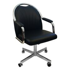 Caster Chair Company Empire Casual Rolling Caster Dining Chair