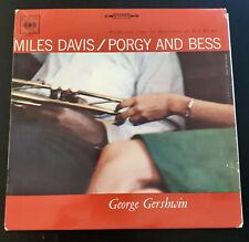 Vinyle 33T 33 1/3miles davis/ porgy and bess CBS S62 108 - LP