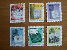 AUSTRIA 1965 STAMP EXHIBITION, 6VALS, U/M,EXCELLENT.