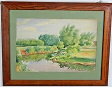 Framed  Landscape by Wendell Moseley