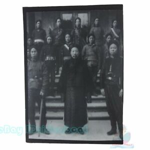 """Matted8""""x6""""Old Photograph Qing government trained new army with rifle China 1900"""