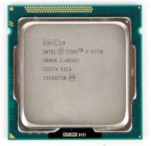 Intel Core i7-3770 3.4GHz Quad Core SR0PK LGA1155 CPU Processor