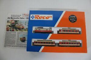8351/485- Roco H0e Zugset mit Elektrolok 31010 inkl OVP