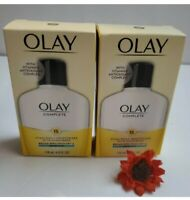 2x OLAY Complete SPF 15 Daily Moisturizer W/Sunscreen Sensitive 4oz. (NEW)!