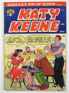 Katy Keene Golden Age Comic Book #6  1952 Archie Series