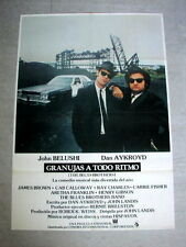 THE BLUES BROTHERS Original CAR Movie Poster JOHN BELUSHI DAN AKROYD JOHN LANDIS