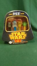 Limited Edition Star Wars PEZ Tin Darth Vader R2d2 Yoda C3p0