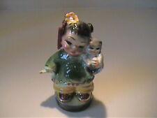 """Vintage 1950'S Josef Originals """"Wee Lin"""" Asian Girl With Kitten"""