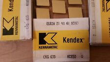 5 pcs.  CNG 633   Kennametal  KC850 Carbide Inserts
