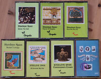 7x STEELEYE SPAN ORIGINAL UK CASSETTE TAPES CHRYSALIS FOLK REVIVAL MADDY PRIOR
