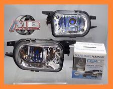 for 01-07 Mercedes Benz W203 C-Class Fog Lights Lamp Clear Lens 9006 PERDE 6000K