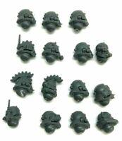 Adeptus Mechanicus Skitarii Rangers / Vanguard 15 x HEADS 40K helmet