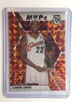 2019-20 Panini Mosaic LeBron James Orange Reactive Prizm MVP 🔥🔥🔥