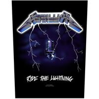 Metallica Ride The Lightning Jacket Back Patch Official Heavy Metal Band Merch
