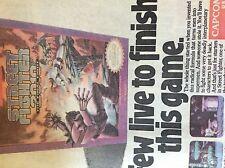 m3f ephemera 1989 advert capcom usa street fighter 2010
