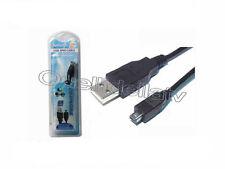 CAVO USB A MASCHIO A FIREWIRE MINI 4 PIN PC VIDEOCAMERA COMPUTER 1,5 MT 2S