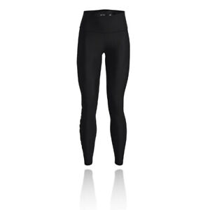 Under Armour Womens HeatGear Branded Full-Length Tights Bottoms Trousers