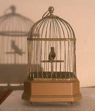 German Karl Griesbaum Singing Bird Cage Automaton