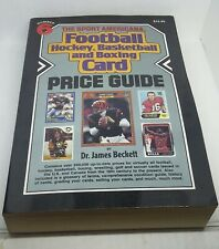 The Sport Americana Football, hockey, basketball Card Price Guide 1989 Number 6.
