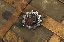 Steampunk Pin Large Multi Finish Metal Gear Shaped Bar Style Steampunk Pin