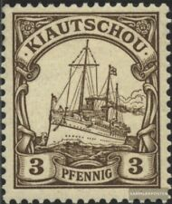 kiautschou 5 oblitéré 1901 Expédier Imperial Yacht hohenzollern