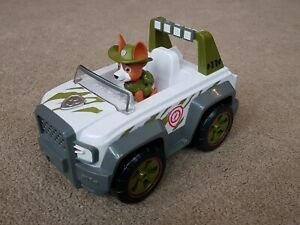 PAW Patrol - Tracker figure And Jungle Cruiser Jeep Vehicle With Sound.
