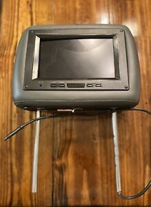 Headrest TV Monitor Gray XOVISION GX8184 Touch Buttons