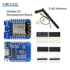 ESP8266 ESP-12 NodeMcu Lua WeMos D1 Mini WIFI CH340G Development Board Antenna
