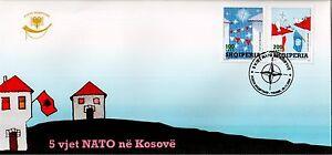 Albania 2004. 5 ANNIVERSARY OF NATO´s ENTRY IN KOSOVO. FDC Set MNH