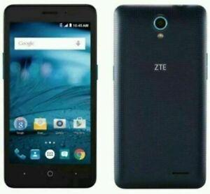 UNLOCKED / T-Mobile ZTE Avid Plus Z828 Blue 4G LTE Smart Cell Phone *GUARANTEED*