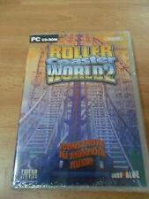 Roller Coaster World 2 Rollercoaster - Nuevo Precintado - PC -