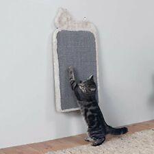 Cat Scratching Board Cat Shaped Light Grey 36 x 70 cm