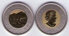 2020 Canada $2 Polar Bear Specimen Two Dollars, Mintage; 25,000