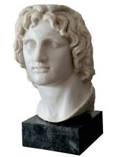 Alexander the Great Macedonian Bust Head - British Museum Replica Reproduction