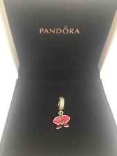 Pandora Argento Sterling Charm Ciondolo Orchidea ALE S925 791554EN69