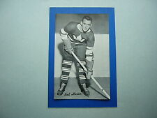 1934/43 BEEHIVE CORN SYRUP GROUP 1 HOCKEY PHOTO RED HERON BEE HIVE SHARP!!
