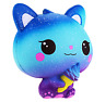 Jumbo Ice Cream Cat Slow Rising Stress Relief Galaxy Squishy Kawaii Scented Toys